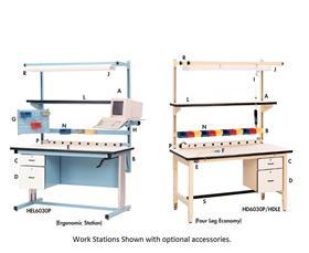 ERGONOMIC WORK STATIONS